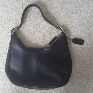 Coach hobo black purse